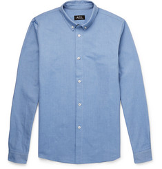 A.P.C. Slim-Fit Cotton Oxford Shirt