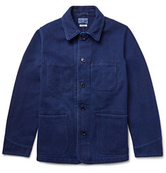 Blue Blue Japan - Cotton-Canvas Shirt Jacket