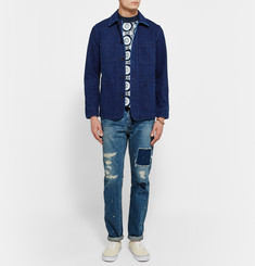 Blue Blue Japan Cotton-Canvas Shirt Jacket