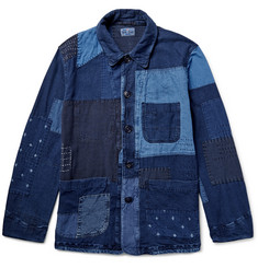 Blue Blue Japan Patchwork Denim Jacket