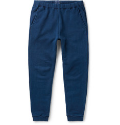 Blue Blue Japan - Tapered Loopwheel-Knit Cotton Sweatpants