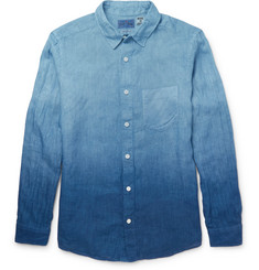 Blue Blue Japan - Indigo-Dyed Dégrade Cotton Shirt