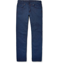 Blue Blue Japan - Slim-Fit Stretch-Cotton Twill Jeans