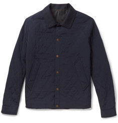 AMI - Argyle Overstitch Canvas Jacket