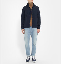 AMI Argyle Overstitch Canvas Jacket