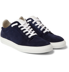 AMI - Suede and Leather Sneakers