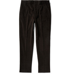 AMI Slim-Fit Cotton-Corduroy Trousers