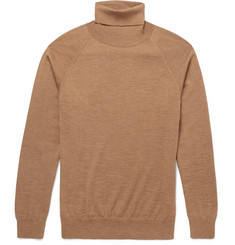 AMI - Slim-Fit Merino Wool Rollneck Sweater