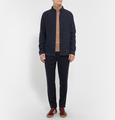 AMI Slim-Fit Merino Wool Rollneck Sweater