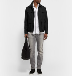 AMI Cotton-Blend Canvas Field Jacket