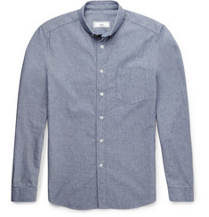AMI - Slim-Fit Cotton Oxford Shirt