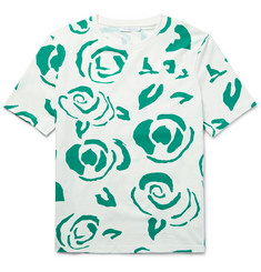 J.W.Anderson - Slim-Fit Floral-Print Cotton-Jersey T-Shirt