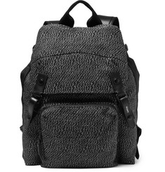 Lanvin Technical Linen Backpack