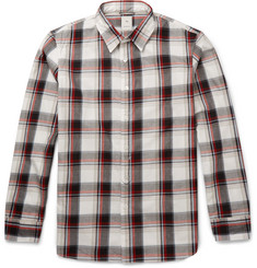 Kics Document - + Beams Slim-Fit Plaid Cotton Oxford Shirt