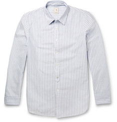 Kics Document - + Beams Slim-Fit Striped Cotton Shirt