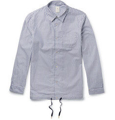 Kics Document + Beams Striped Cotton Shirt