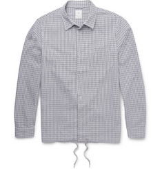 Kics Document + Beams Gingham Cotton Shirt