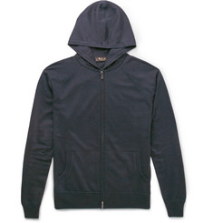 Loro Piana Zip-Up Cashmere and Silk-Blend Hoodie