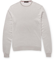 Loro Piana Knitted Silk Sweater