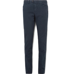 Loro Piana Roadster Slim-Fit Stretch-Cotton Twill Trousers