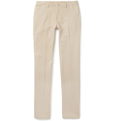 Loro Piana - Golf Slim-Fit Stretch-Cotton Trousers