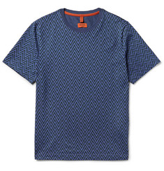 Missoni - Slim-Fit Jacquard-Knit Cotton T-Shirt