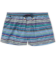 Missoni - Printed Short-Length Swim Shorts