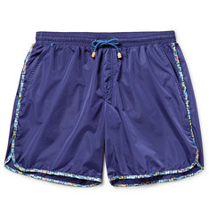 Missoni - Printed Mid-Length Swim Shorts