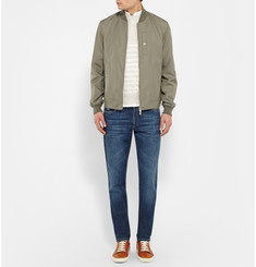 Brunello Cucinelli - Silk Bomber Jacket