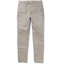 Brunello Cucinelli Slim-Fit Cotton Trousers
