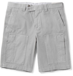 Brunello Cucinelli - Cotton-Gabardine Shorts