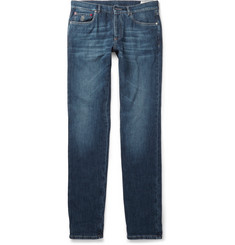 Brunello Cucinelli Slim-Fit Washed Denim Jeans