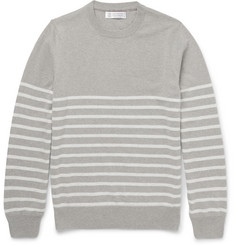 Brunello Cucinelli - Striped Cashmere Sweater