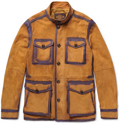 Tod's - Painted Suede Field Jacket