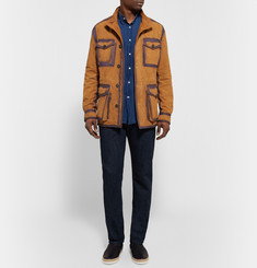 Tod's Painted Suede Field Jacket