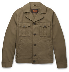 Tod's - Stretch-Cotton Gabardine Jacket