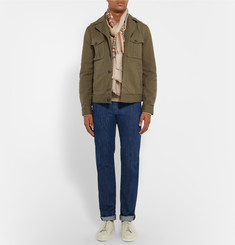 Tod's Stretch-Cotton Gabardine Jacket