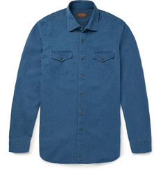 Tod's Denim Western Shirt