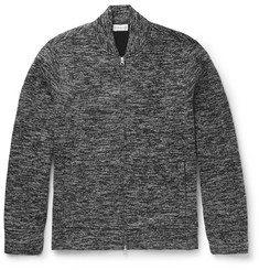 Club Monaco Zip-Up Stretch-Knit Sweater