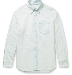 Club Monaco - Slim-Fit Button-Down Collar Denim Shirt