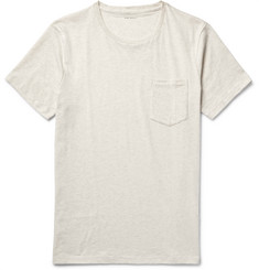 Club Monaco - Williams Mélange Cotton-Jersey T-Shirt