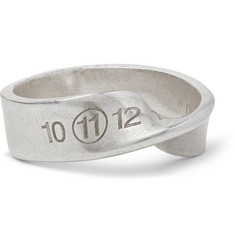 Maison Margiela Twisted Silver-Tone Ring