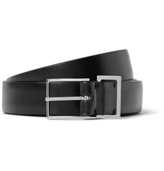 Maison Margiela 2cm Black Leather Belt