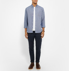 J.Crew Slim-Fit Linen and Cotton-Blend Shirt