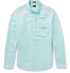 J.Crew - Slim-Fit Linen and Cotton-Blend Shirt