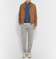 Tom Ford Varsity Cotton-Blend Sweatpants