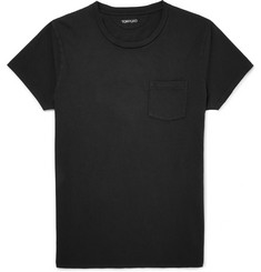 Tom Ford Cold-Dyed Cotton T-Shirt