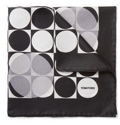 Tom Ford - Printed Silk Pocket Square
