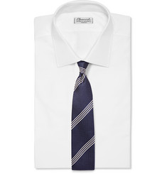 Tom Ford Striped Silk-Jacquard Tie