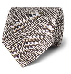 Tom Ford Houndstooth Silk-Jacquard Tie